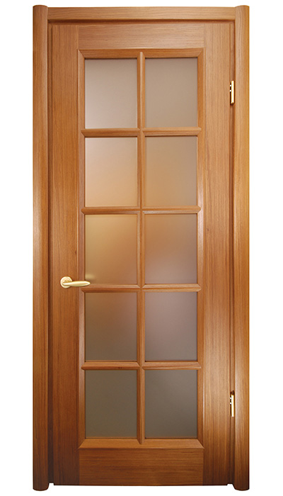 interior double glass french doors SDG-040