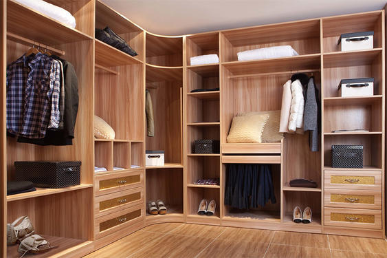MDF Wardrobe-WALK-IN CLOSET 24