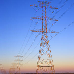 overhead transmission lines, electricity transmission lines,Lattice Structures,