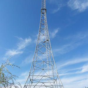 High quality Broadcast and TV Tower , mediumwave communication tower , telecom tower