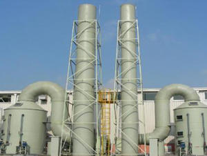 China FRP exhaust gas absorption tower factory