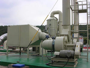 China FRP Organic waste gas treatment tower factory