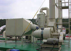 FRP organic waste gas treatment tower