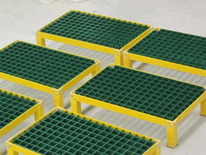 China operation platform FRP grate factory