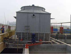 Low noise cooling tower