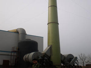 China FRP chimney factory