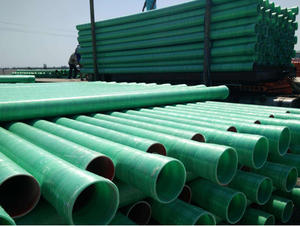 China FRP cable protection pipe factory