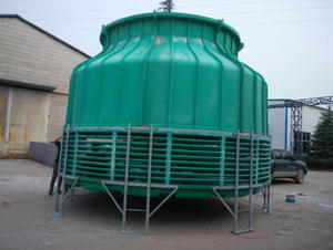 spray ventilation cooling tower