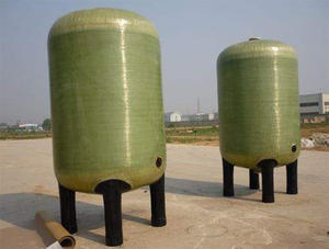 China FRP vertical tank factory