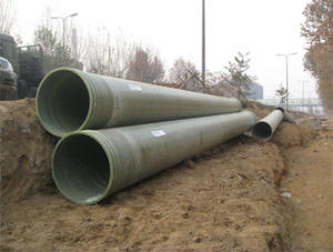 China fiberglass buried pipe factory