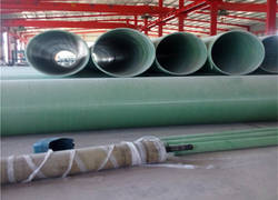 FRP acid and alkali pipe