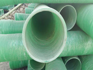China FRP winding pipe factory