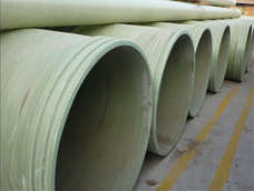 Large-caliber FRP plastic pipe
