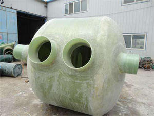 China Small FRP septic tank factory