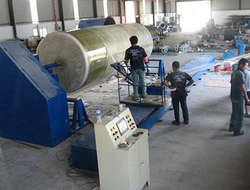 FRP winding machine