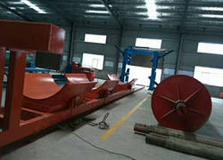 FRP winding production line