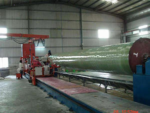 China FRP pipe winding equipment price
