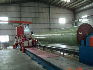 China FRP winding products production line factory