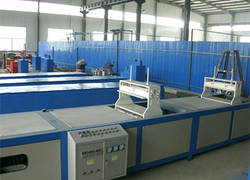 FRP pultrusion line