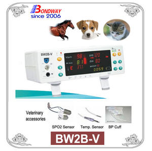 Tabletop veterinary vital signs monitor, desktop vet vital signs monitor