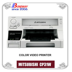 Color Video Printer, Mitsubishi CP31W For Color Doppler Ultrasound Machine