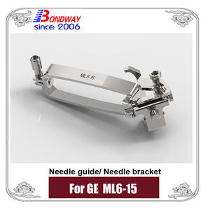 biopsy needle bracket, needle guide for GE ultrasound ML6-15