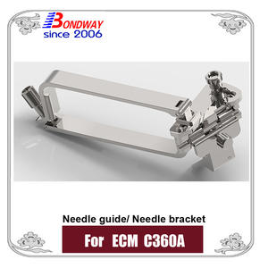 Needle bracket, needle guide for ECM C360A ultrasound transducer, probe