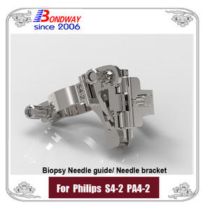 Biopsy Needle Guide For Philips Phased Array Transducer PA4-2 S4-2, Needle Bracket, Biopsy Kits