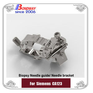 Siemens reusable biopsy needle guide for micro-convex transducer CA123