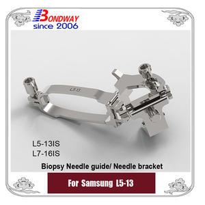 Samsung biopsy needle guide for linear transducer L5-13 L5-13IS L7-16IS