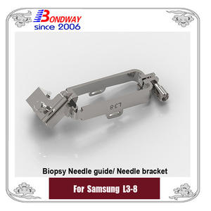 Samsung biopsy needle guide for linear transducer L3-8, Medison needle guide