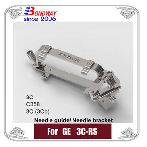 GE biopsy needle guide for transducer 3C-RS 3C C358 3C(3Cb), needle bracket