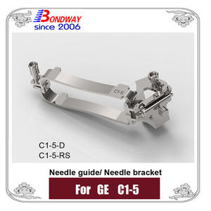 Needle Bracket, Needle Guide For GE Ultrasound Probe C1-5 C1-5-D C1-5-RS