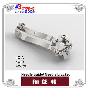 Biopsy needle bracket, needle guide for GE ultrasound 4C 4C-A 4C-D 4C-RS