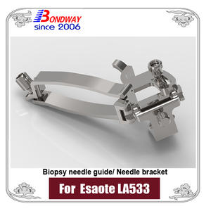 biopsy needle bracket, needle guide bracket for Esaote ultrasound LA533