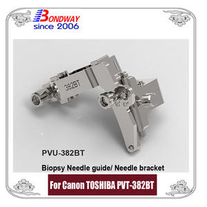 Biopsy needle guide for CANON (TOSHIBA) transducer PVT-382BT PVU-382BT