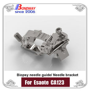 biopsy needle bracket, needle guide bracket for Esaote ultrasound CA123