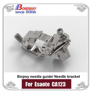 Support d'aiguille, support de guide d'aiguille de biopsie pour le transducteur CA123 d'ultrason d'Esaote