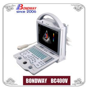 Scanner d'ultrason de Doppler de couleur vétérinaire numérique, machine à ultrasons