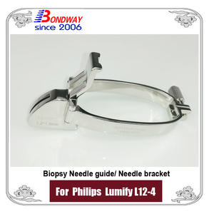 Biopsy needle guide Philips Lumify L12-4 probe, needle bracket