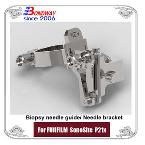 FUJIFILM SonoSite Biopsy Needle Bracket, Needle Guide For Ultrasound Phased Array Transducer P21x