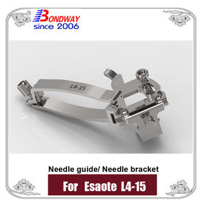 biopsy needle bracket, needle guide for Esaote transducer L4-15