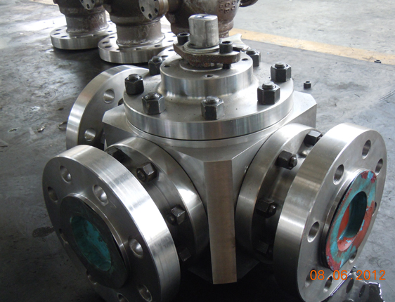 forged three way ball valve