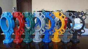 China lug rubber lined butterfly valve,Wafer Soft Seal Butterfly  Valve supplier