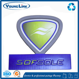 Shop name acrylic face outdoor advertising light box sign