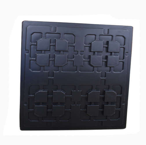 OEM vacuum forming plastic electronic packaging tray