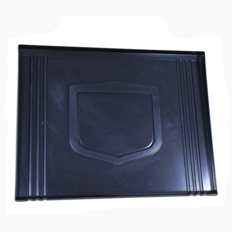 OEM black PVC ABS vacuum forming blister tray