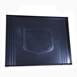OEM black PVC ABS vacuum forming blister tray factory