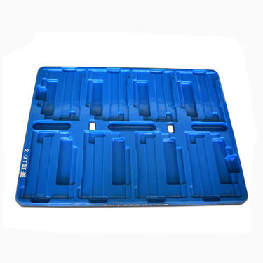 Blue Vacuum Forming Plastic Blister Tray Manufacturer