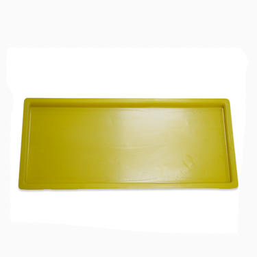 High quality Yellow ABS thermoforming plastic tray